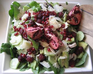 pomegranite salad
