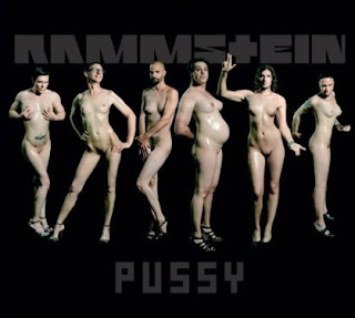 Rammstein - Pussy single cover