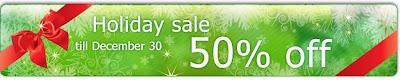 50% off SPB softwares!
