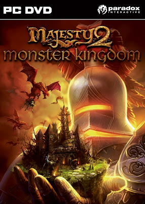 Categoria estrategia, Capa Download Majesty 2 Monster Kingdom (PC)