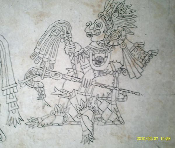 Tlaloc, como dios primordia