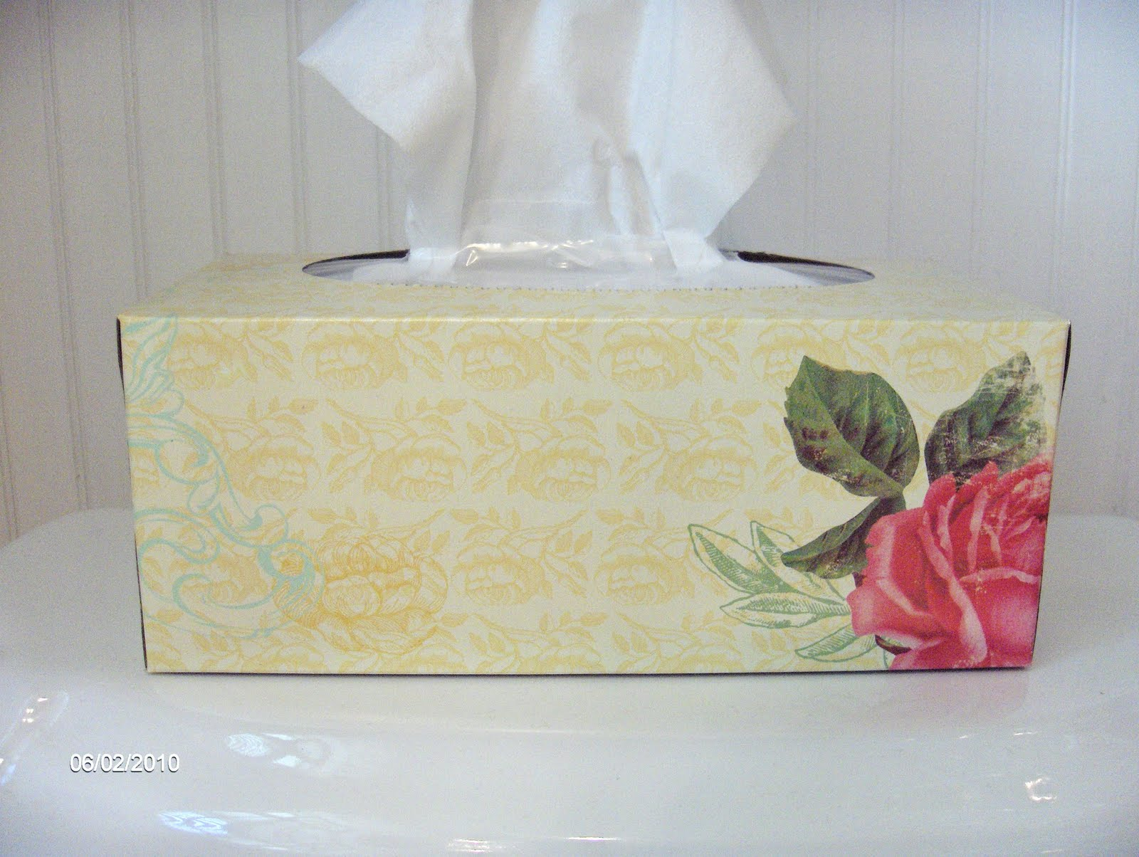 Inspired by a Tissue Box | Colleen Dietrich Designs