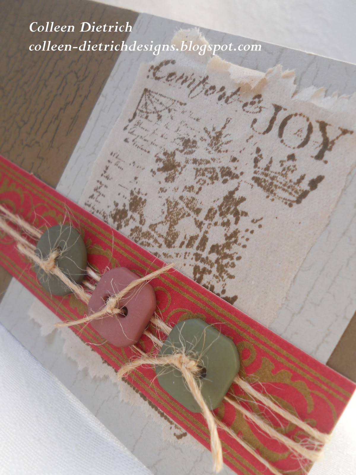 Rustic Christmas Wishes | Colleen Dietrich Designs