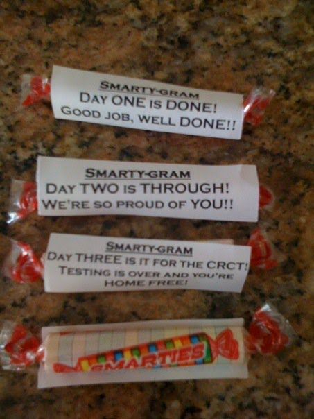 candy grams for testing | just b.CAUSE Smarties Test