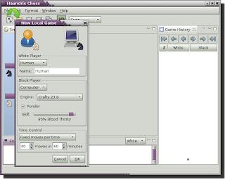 Haundrix Chess - elegant and functional chess program Haundrix2