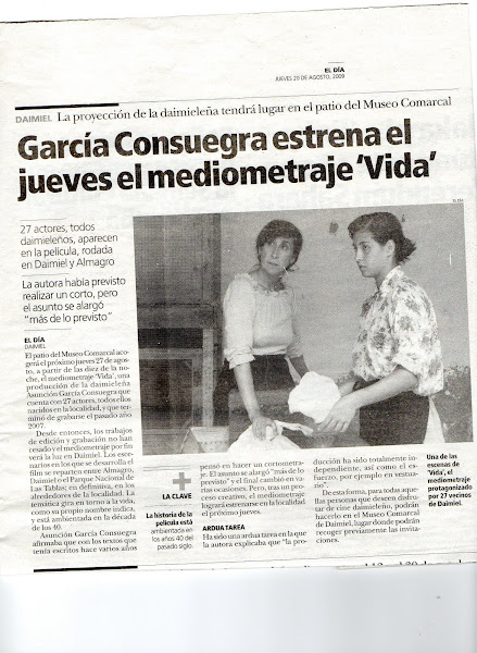NOTICIA EN PRENSA - VIDA