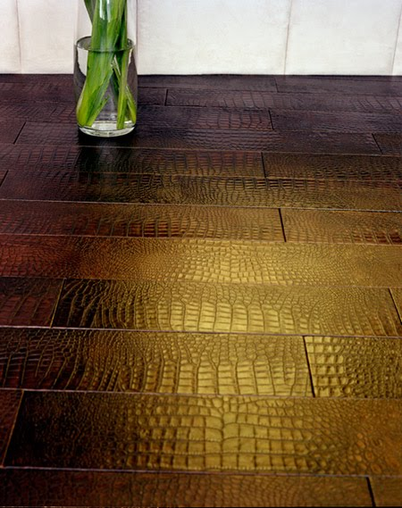 Lunada consulting design leather not just for for Southwestern flooring