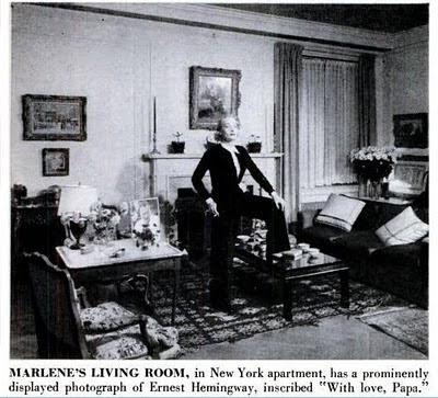 Site Blogspot   Living on Last Goddess  993 Park Avenue  Marlene Dietrich S New York Apartment
