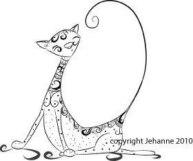 cat tattoo designs on Tattoo cat freebie