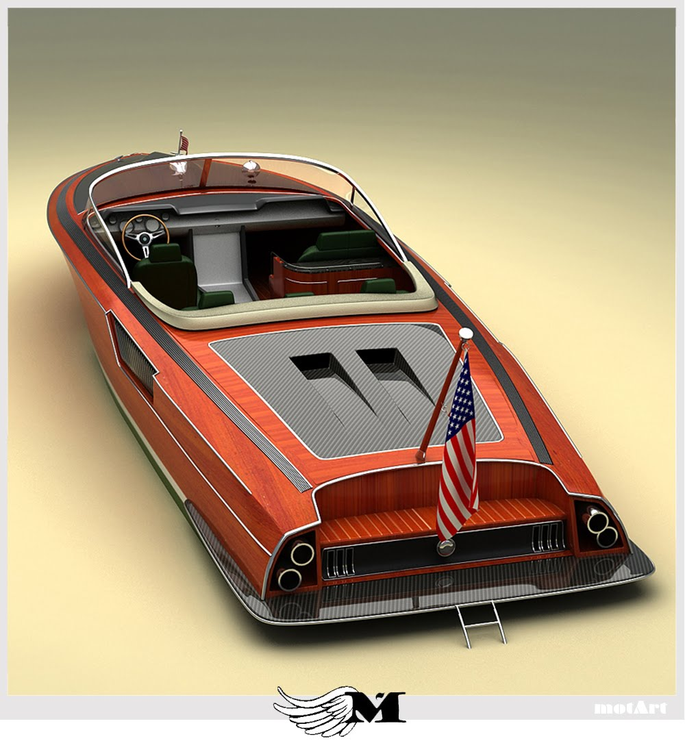 Classic wood speed boat plans online