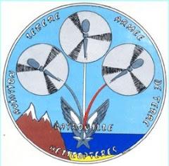 ~La Patrouille ALAT Hélicoptère de l'ESALAT Dax