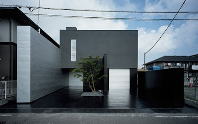 architecture design: Black House - Modern Japanese Homes - Kouichi ...