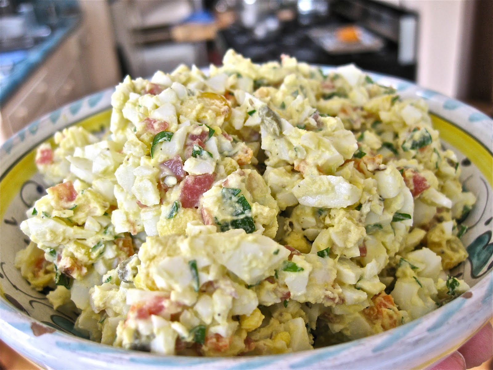 Men Who Like to Cook - David Latt: Egg Salad with Grilled Vegetables ...