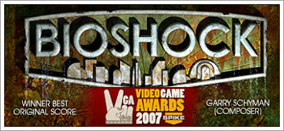 BIOSHOCK wins Video Game Award for Best Score
