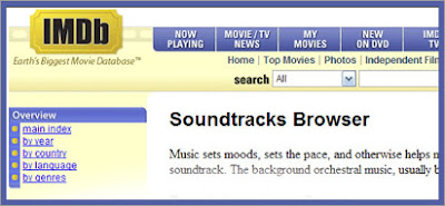 IMDB Soundtrack Browser
