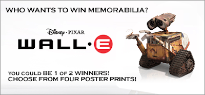 Who wants to win WALL*E?  (Poster Print)