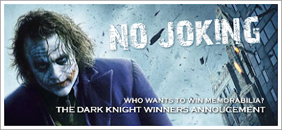 The Dark Knight Poster Contest Winners Annouced