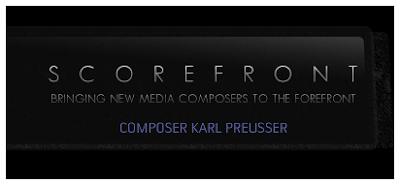 Scorefront:  Composer Karl Preusser