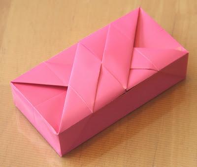 Прямоугольная коробка своими руками