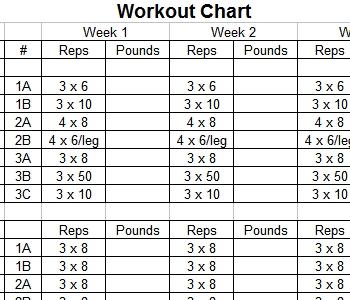 Jump Manual Workout Chart Pdf