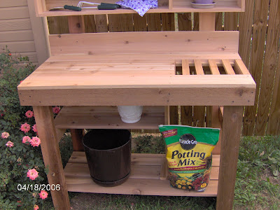 Too Many Tomatoes: Potting Benches