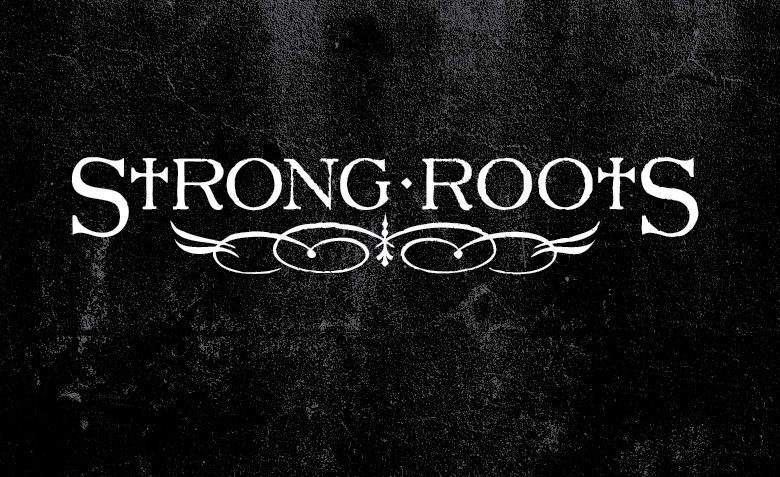 strong roots logo alex m clark design and illustration