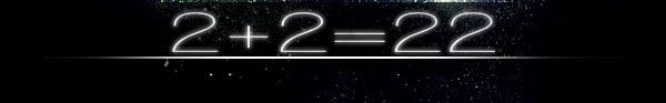 2+2=22..
