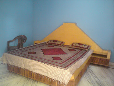 My Room at the Red Rose hotel - Pushkar