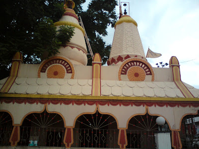 Mahalaxmi Temple besides the Pilgrims Inn Hotel in Shirdi