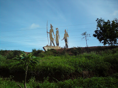 Idols of Lord Rama, Laxman and Goddess Sita at Tapovan