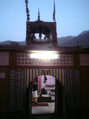 The Trident seen at the Shakti Temple in Uttarkashi