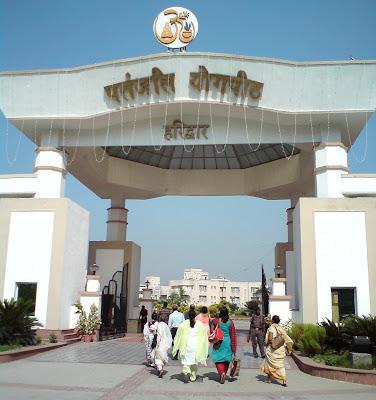 Baba Ramdev's Patanjali Yogpeeth Ashram - Haridwar