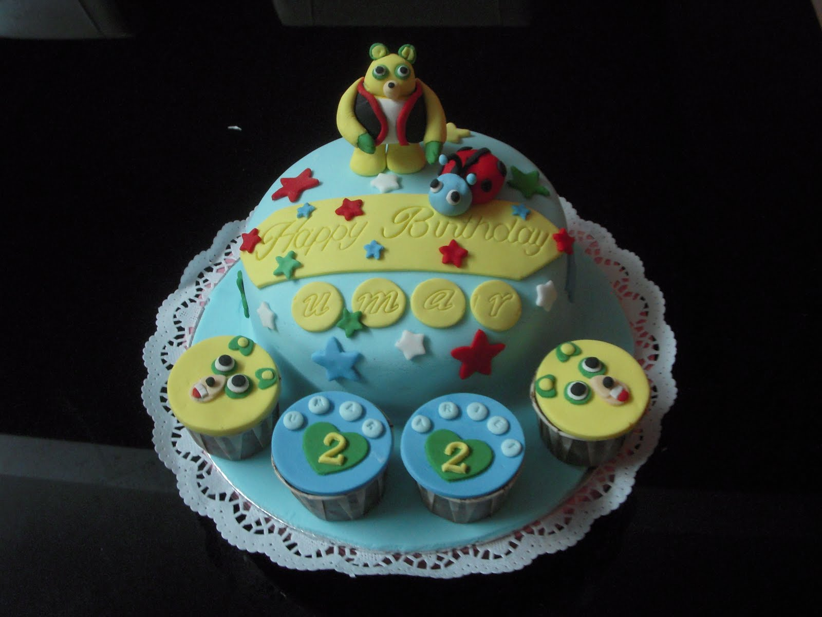 Special+agent+oso+birthday+cake