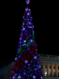 Christmas tree in Kiev
