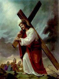 Evangelio 10 de Marzo de 2011 JESÚS+-+CON+LA+CRUZ+A+CUESTAS+-+4dolor