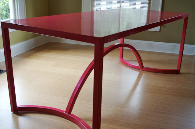 Nice My Favorite Piece Of Furniture In Our Home Is The Red Dining Room Table. It  Was Made By A Friend Of Ours, Tim Stevens. A Few Years Ago, I Called Tim In  ...