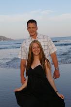 Me and Kyle in Malibu Beach, CA