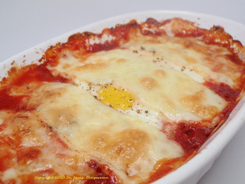 The Naturopathic Gourmet: Easy Baked Eggs