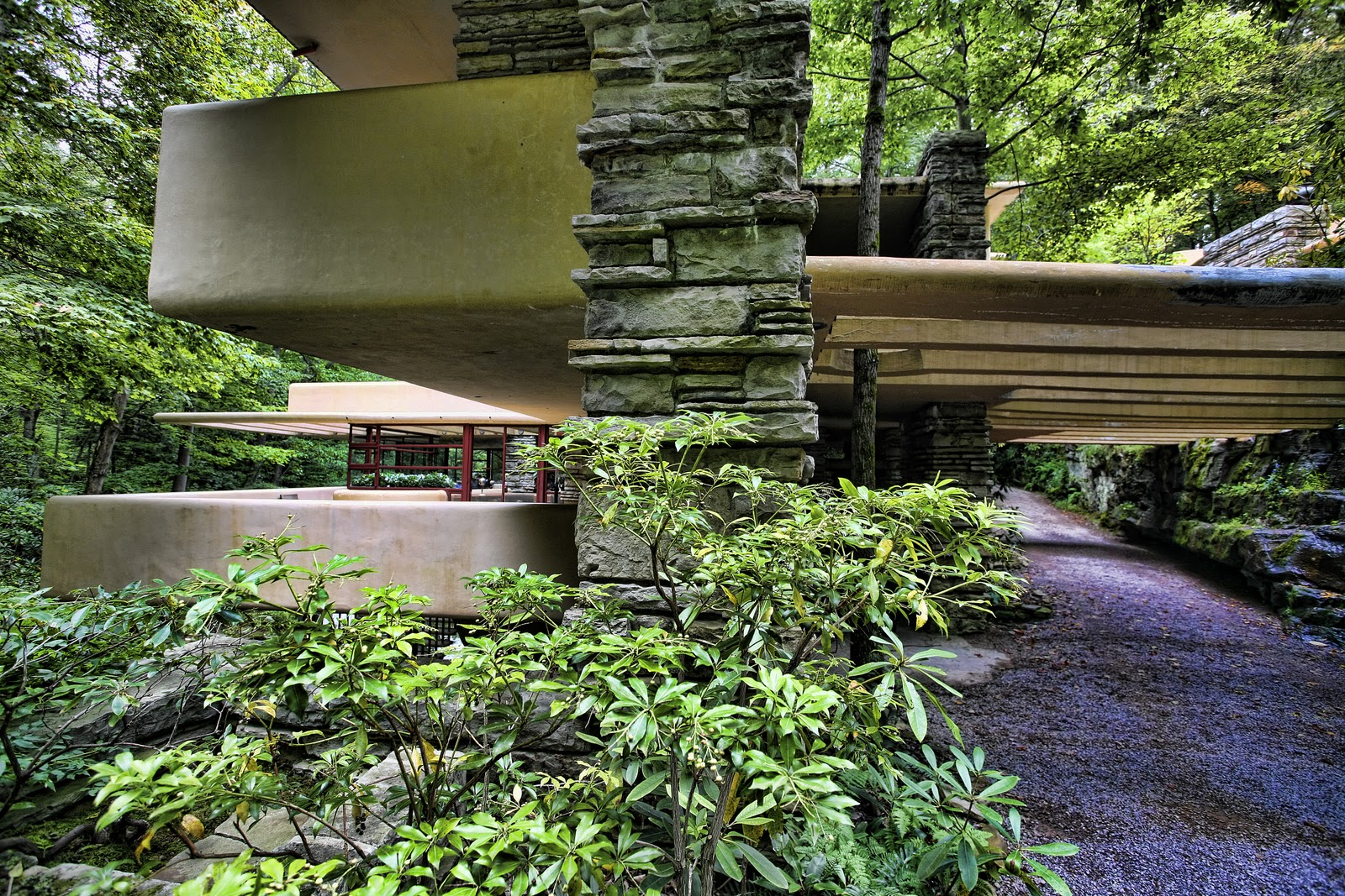 Lloyd Wright Falling Water Falling Waters Frank Lloyd