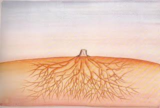 mort d'un arbre - Jean-Michel Folon