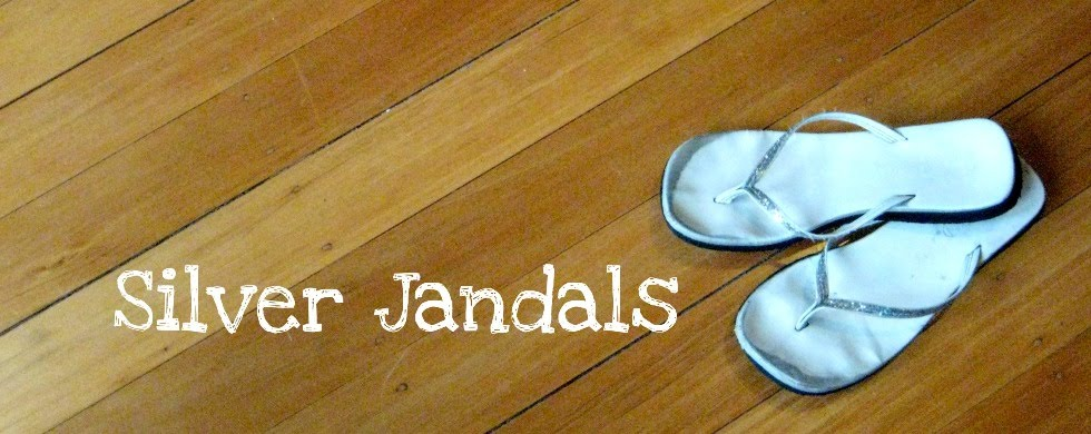 Silver Jandals