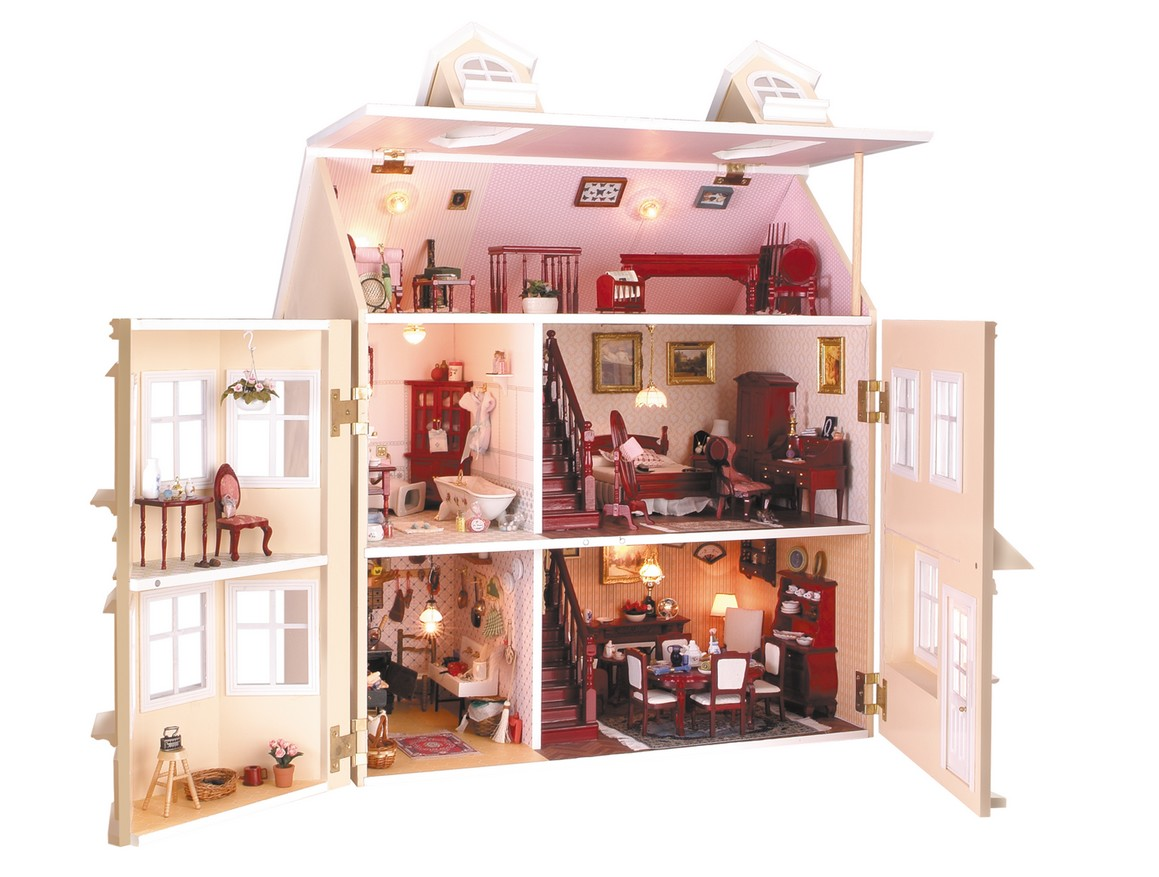 La vida es bella casas de mu ecas for La casa de las munecas madrid