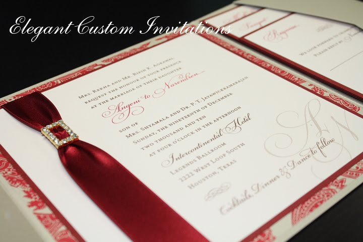 Wedding Invitations Houston texas Isabella Invitations