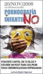 ¡¡¡STOP A LA PORNOGRAFIA INFANTIL!!!