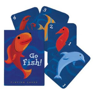 Serving pink lemonade games for kids for Go fish cards