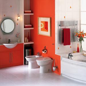 The Sunny Sunflower House Bathroom