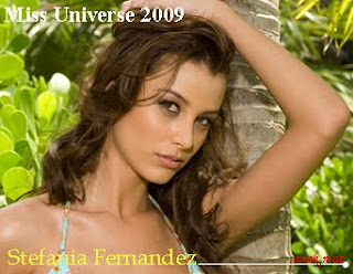 Miss Venezuela Stefania Fernandez Miss Universe 2009