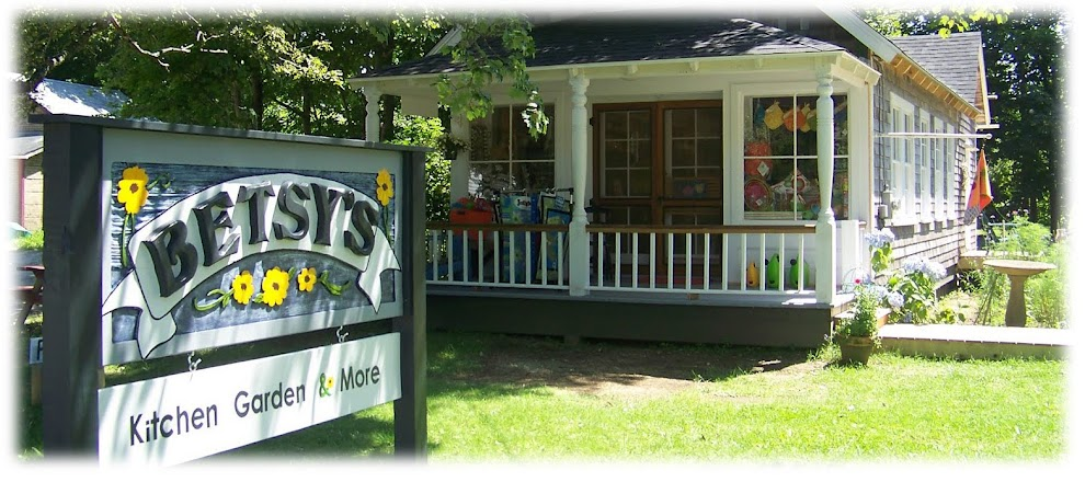 <center>Betsys Sunflower Store <br> Kitchen, Garden, Home and Gift Shop in Brooklin Maine</center>