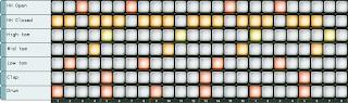 programmation pattern redrum 3/4