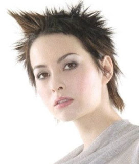 pictures of short hairstyles - short spike hairstyles for women